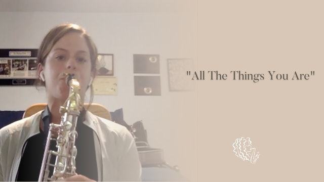 September 2021 Tune of the Month: All the Things You Are