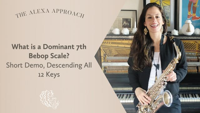 What is a Dominant 7th Bebop Scale? (...