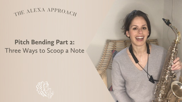 Pitch Bending Part 2: Three Ways to Scoop a Note!