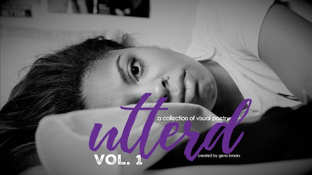 UTTERD | a collection of visual poetry | VOL. I
