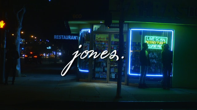 JONES | The series | a love story x Geno Brooks
