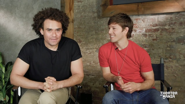 Hamilton's Andrew Chappelle and Thayne Jasperson in the Room Where It Happens