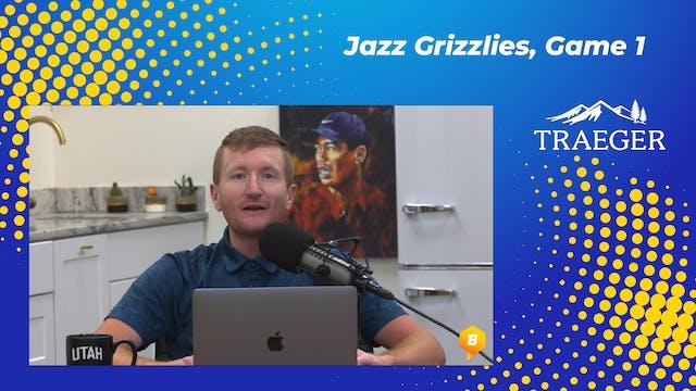Jazz-Grizz Game 1: Homecourt, 3-Point...