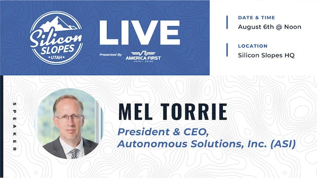 An Interview with ASI CEO Mel Torrie