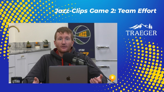 Jazz-Clips Game 2: Team Effort