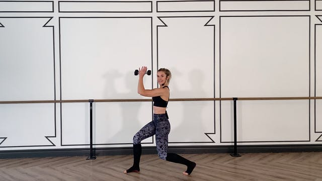 Full Body Barre  Strength | Kristi
