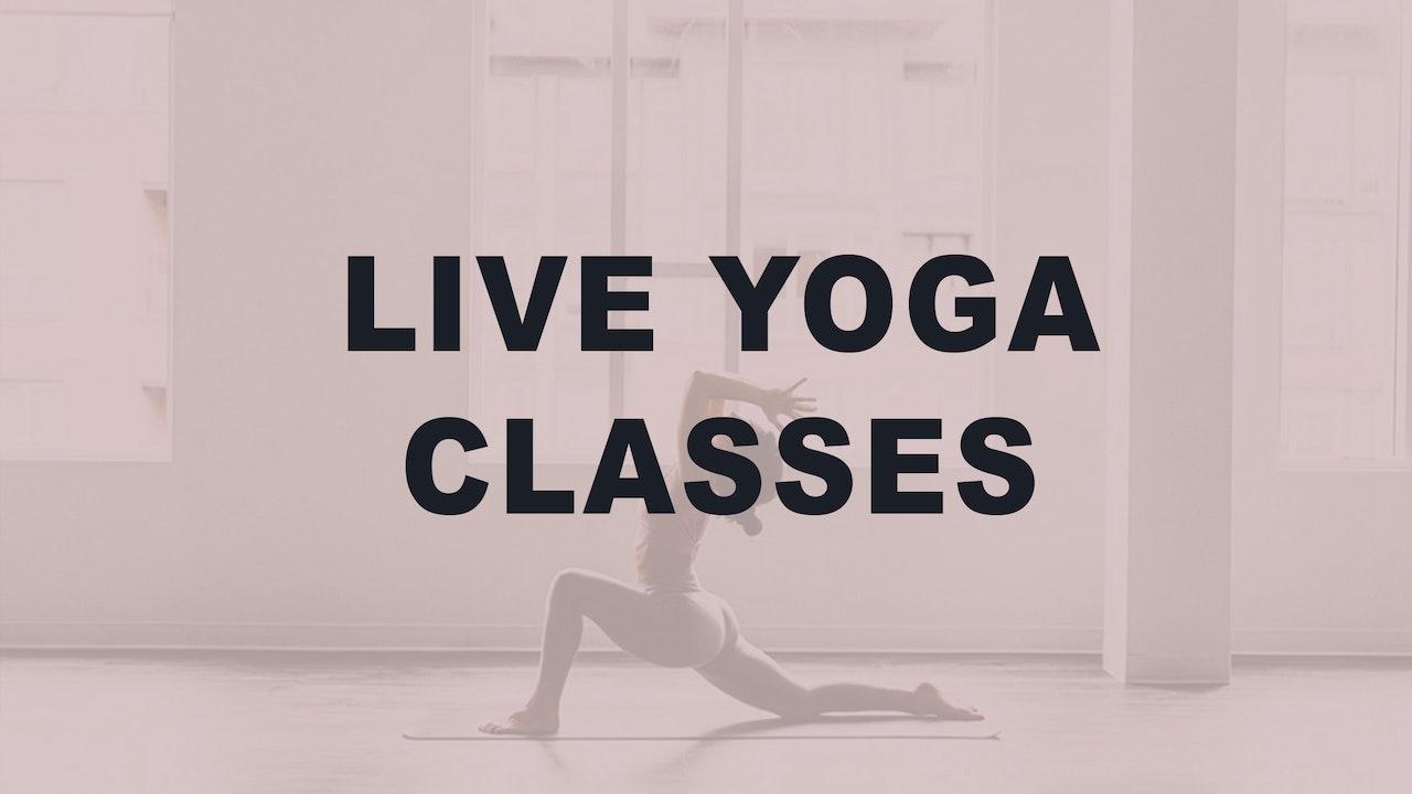 Previously Live Yoga Classes