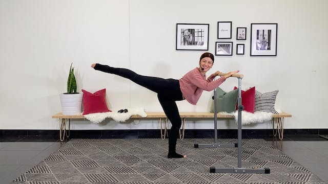 Full Body Barre | Alexandra