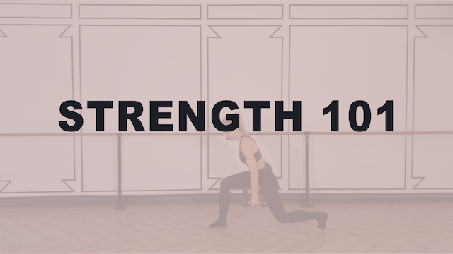 Strength Technique 101