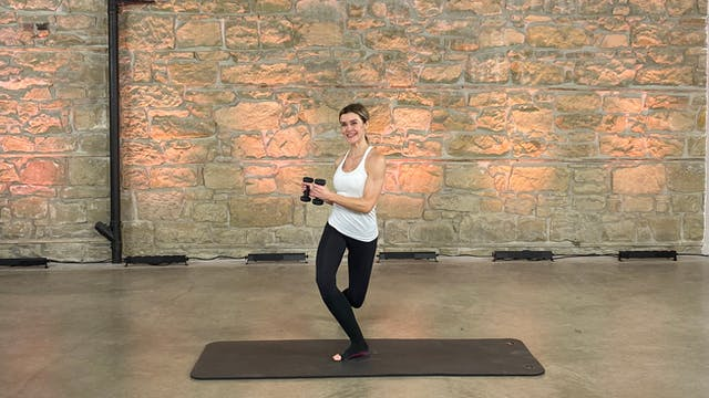 Day 23 - Strength & Cardio | Kristi