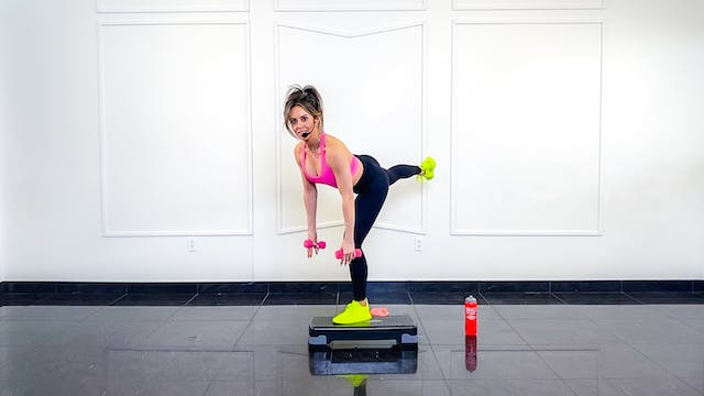 Signature Barre X (with step) | Michelle
