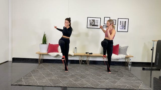 11/05 Live Barre X with Aly & Meg