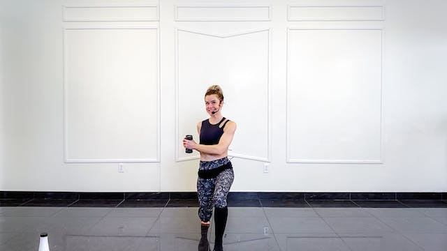 Total Body Dumbbell Burnout | Kristi