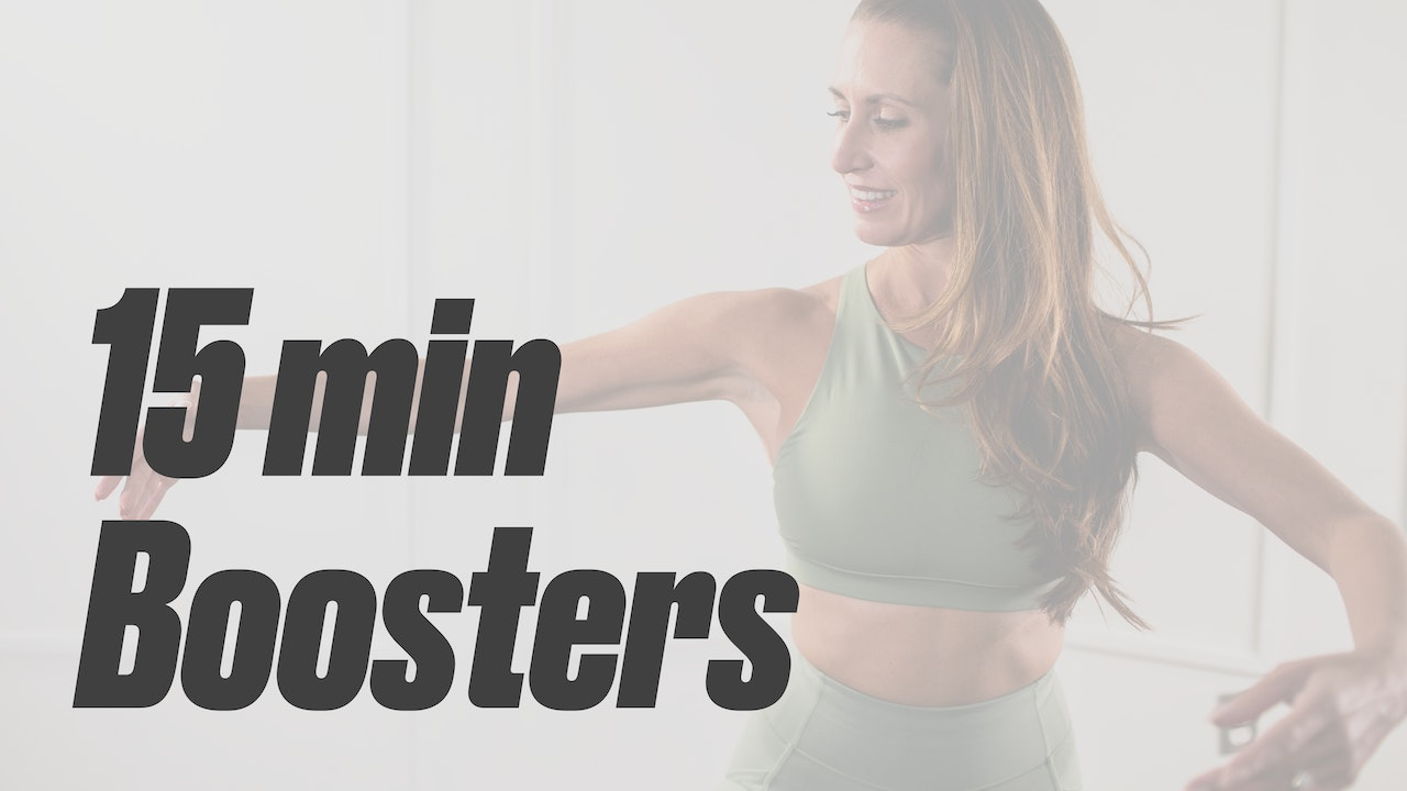Boosters   15 Min & Under