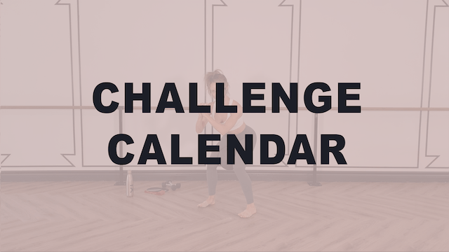 30DAY #BELLECHALLENGE Calendar