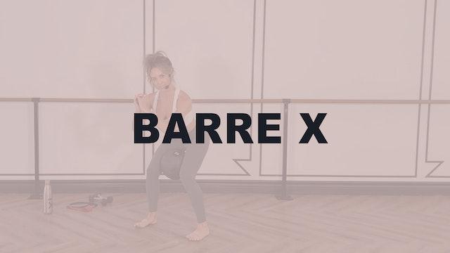 Barre X
