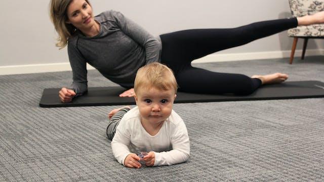 4 Week Postnatal Pilates Program