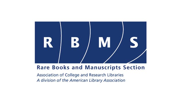 THE BOOKSELLERS for RBMS