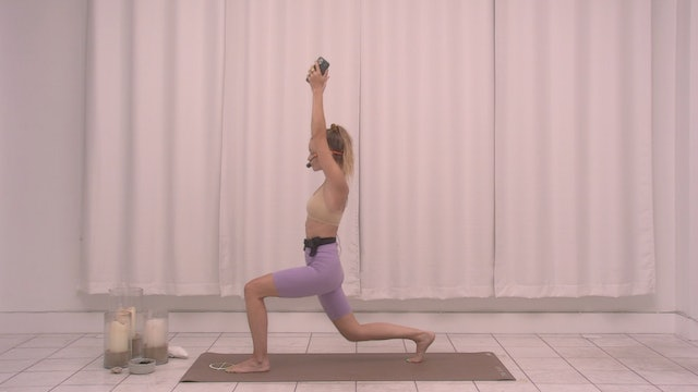 Legs and Glutes with Kate | 20 minutes