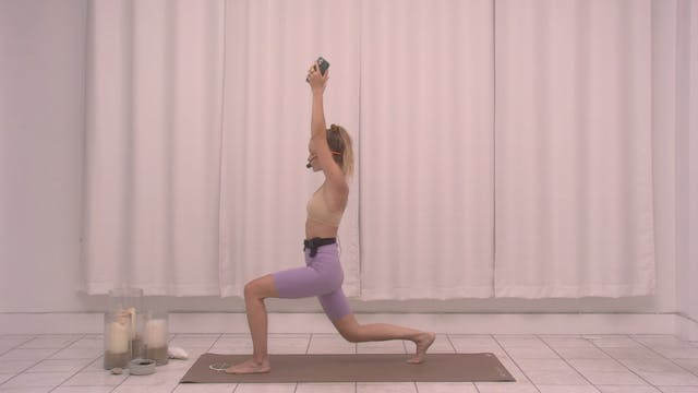 Legs and Glutes with Kate   20 minutes