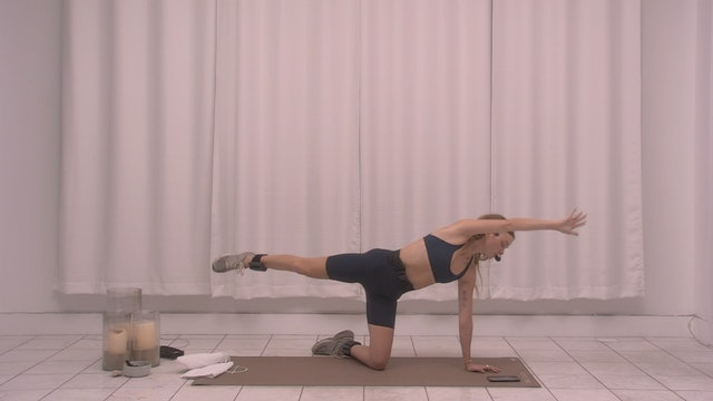 The Class Sculpt with Kate: Lower Body   23 minutes
