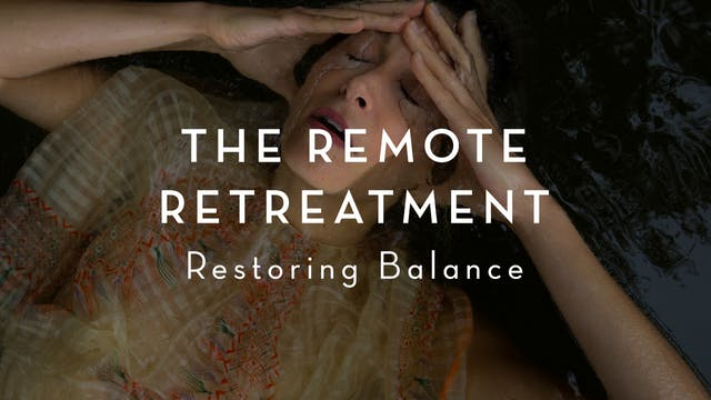 The Remote Retreatment : Restoring Ba...