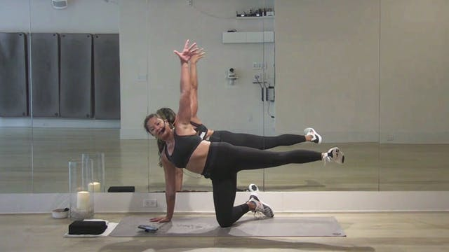 Glutes Cardio and Core with CJ | 50 m...