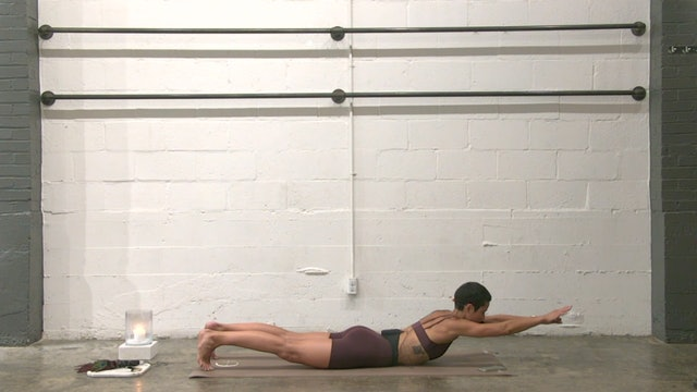 Stretch and Strengthen Back Body with Tia | 21 minutes