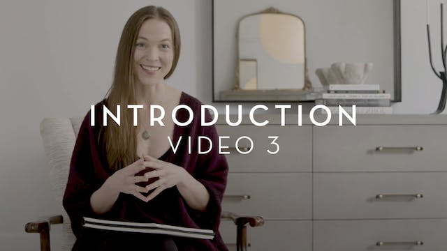 Introduction : Video 3