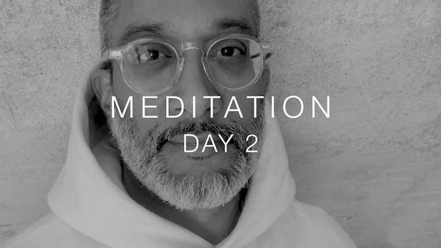 Day 2: Meditation