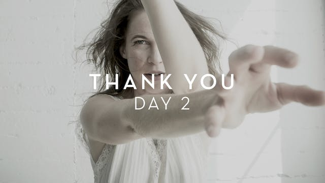 Day 2 Thank You - Natalie Kuhn