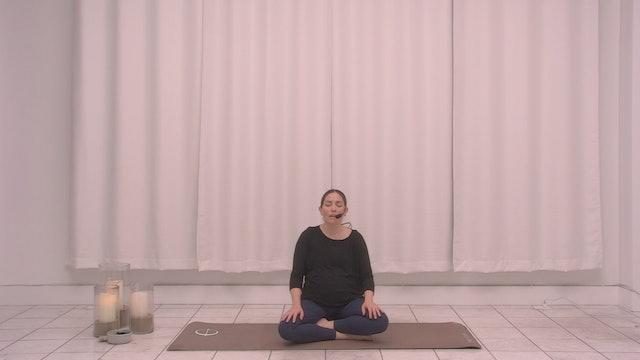Prenatal Meditation with Cristina | 10 minutes