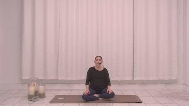 Prenatal Meditation with Cristina | 1...