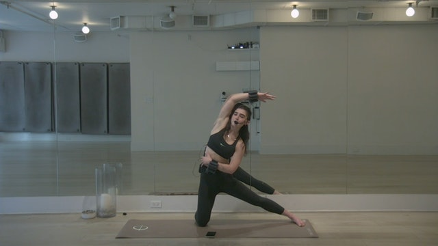 The Class Sculpt: Full Body with Sophie   26 minutes