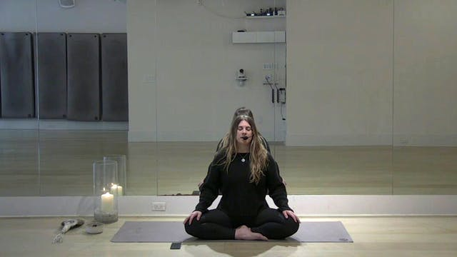 Introduction to Meditation with Karla...