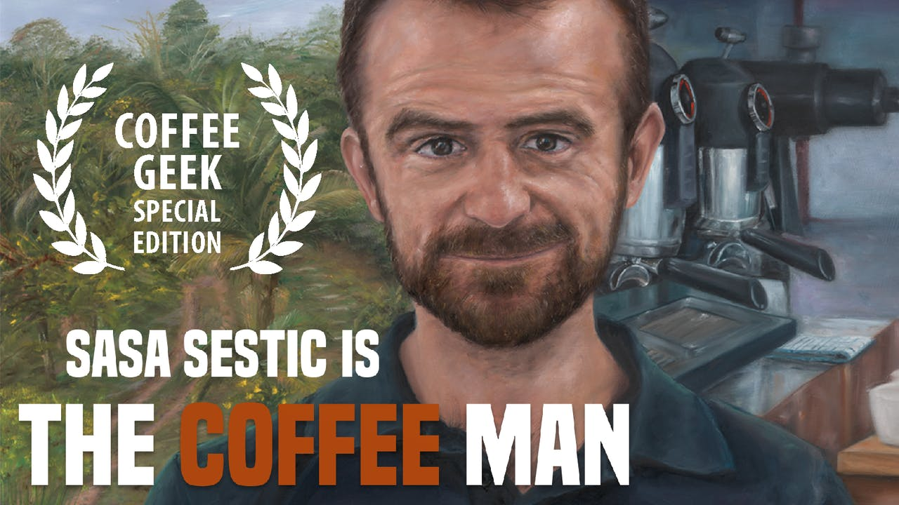 The Coffee Man film | COFFEE GEEK SPECIAL EDITION |