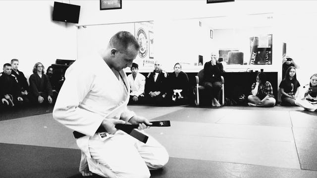 Alan Shade Black Belt