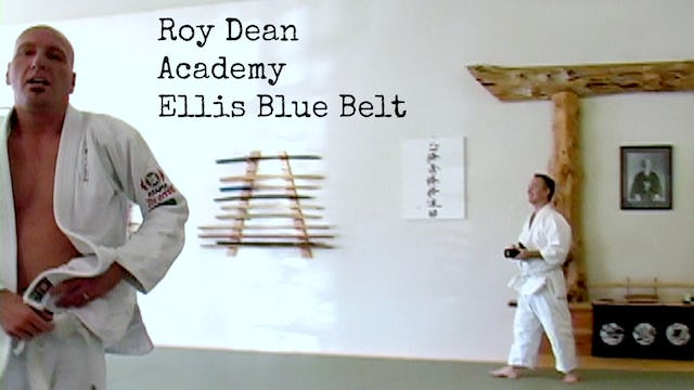 Rick Ellis Blue Belt