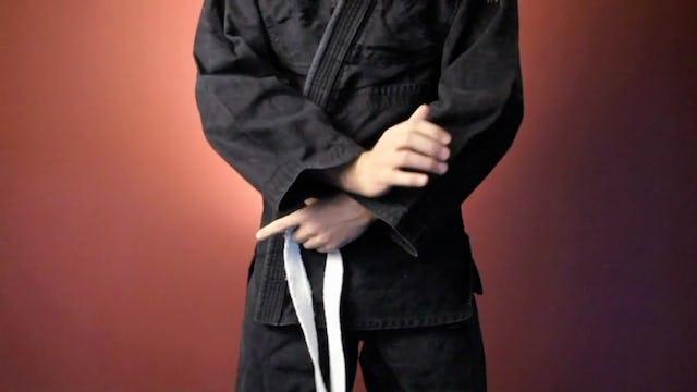 White Belt: Tying Your Belt