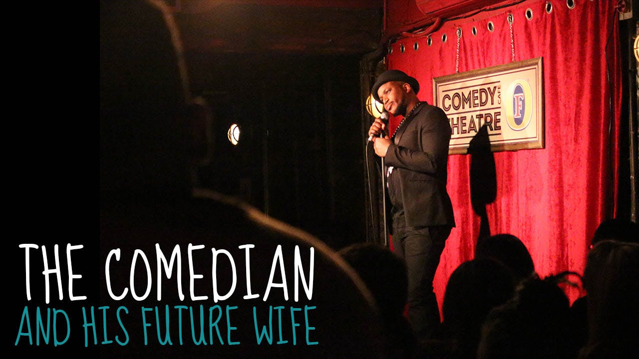 The Comedian and His Future Wife