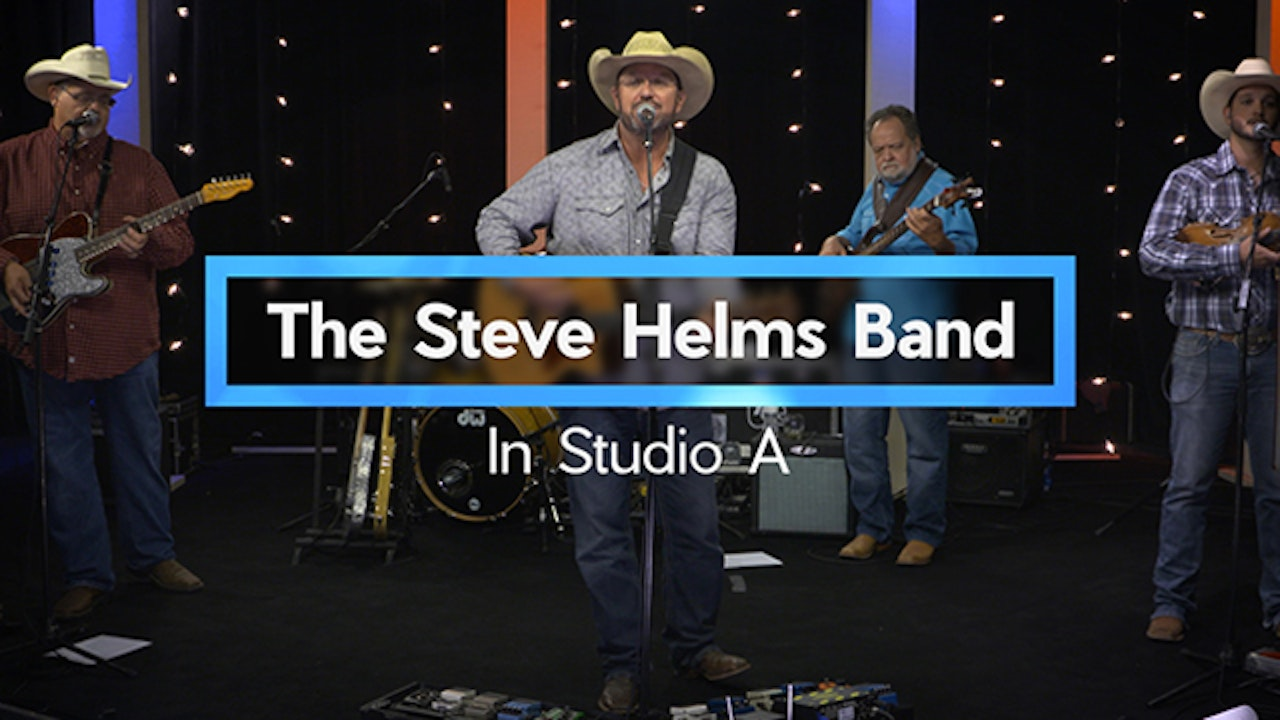 The Steve Helms Band In Studio A