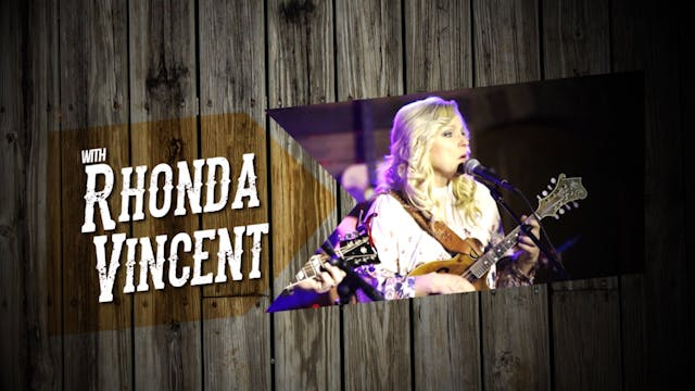 Songs & Stories with Rhonda Vincent