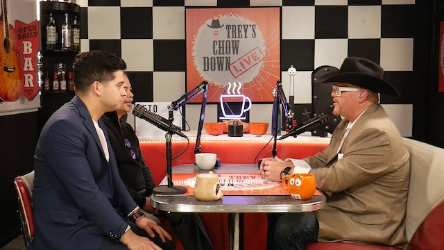 Trey's Chow Down Live, Episode 147, with Chefs Beto & Julian Rodarte