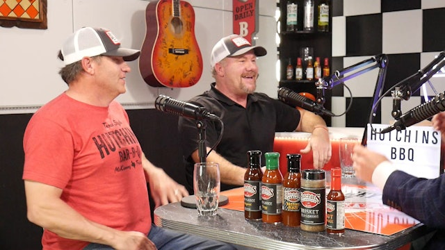 Trey's Chow Down Live, Episode 142, with Hutchins BBQ