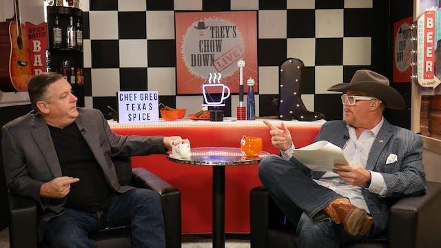 Trey's Chow Down Live, Episode 143, w...