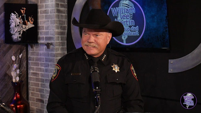 A Standup Dad Podcast, Episode 4, with Sheriff Bill Waybourn
