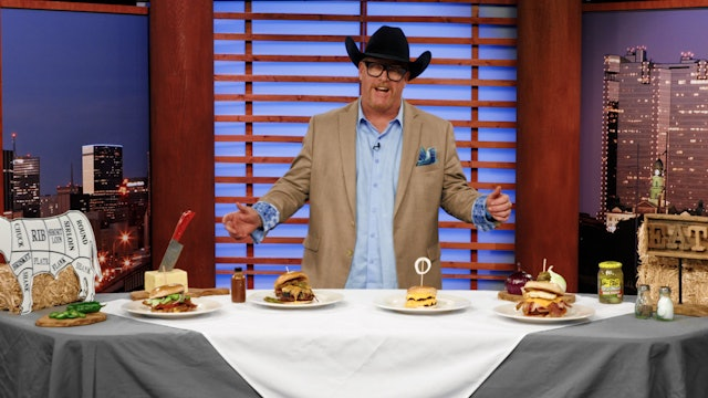 Trey's Chow Down Live, Best Burgers In North Texas 2019
