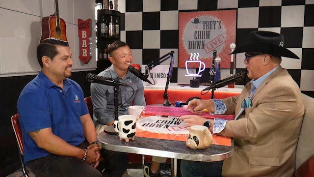 Trey's Chow Down Live, Episode 151, with Ivan Arias, Rick Na and Rudy Cossio