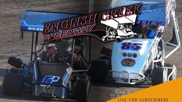 VOD   Outlaw Dirt Kart Nationals 1 @ English Creek Speedway Aug 9, 2021