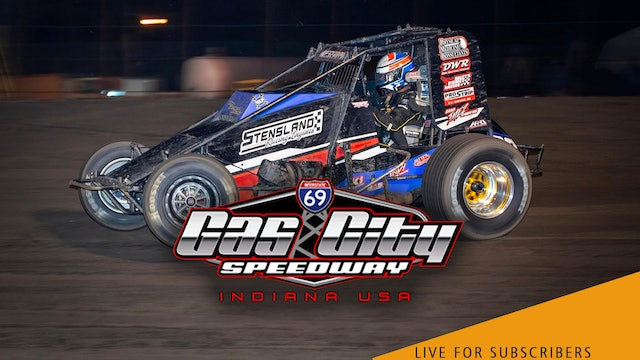 VOD | Non-Wing Sprints @ Gas City Speedway Sept 10, 2021